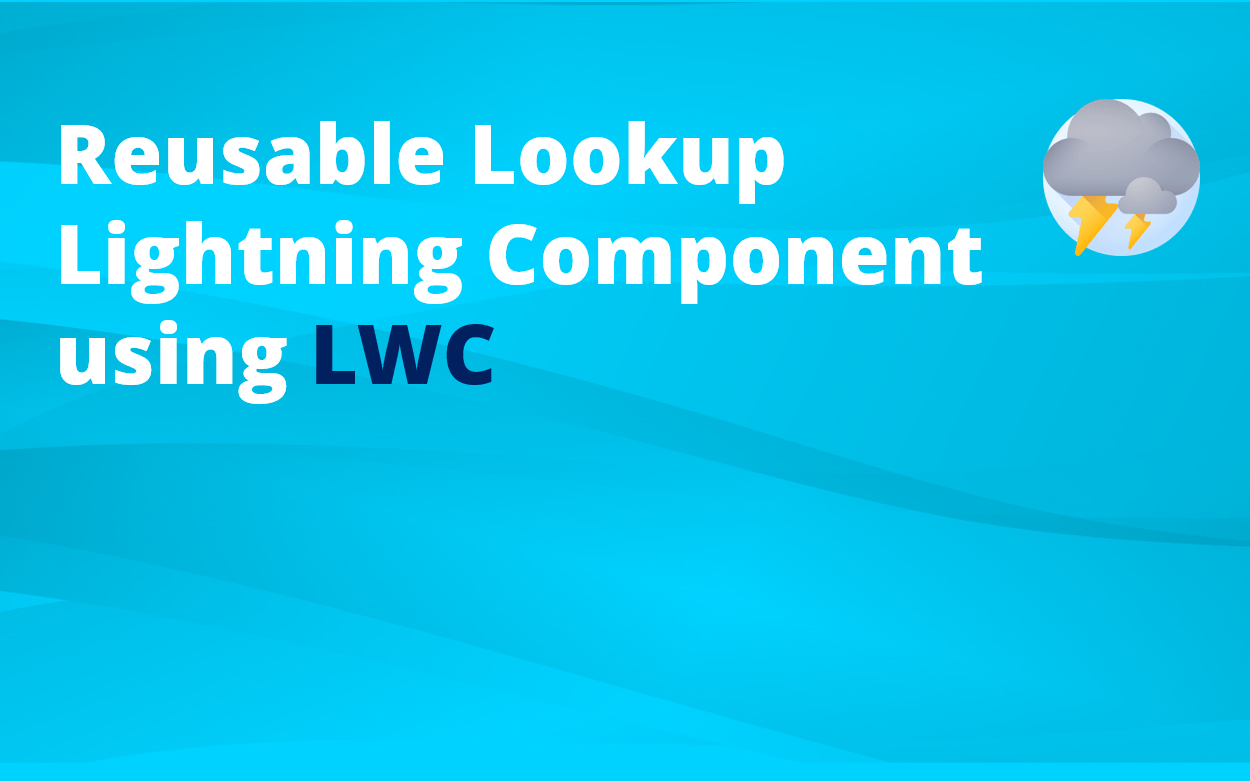 How to create a reusable Lookup Lightning Component
